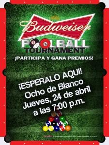 Poster_Poolball Ocho de Blanco